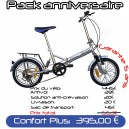Pack Confort Plus velo pliant 16 PM2