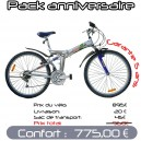 Pack Confort VTT pliant 26 PM3