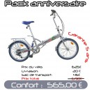 Pack Confort velo pliant 20 PM3