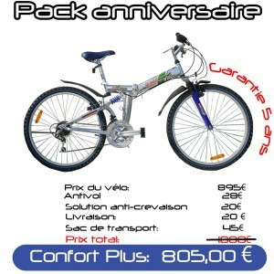 [PACK CONFORT PLUS] 26PM3 VTT PLIANT