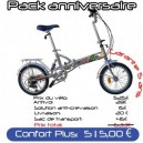 Pack Confort Plus velo pliant 16 PM3