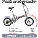 Pack Confort velo pliant 16 PM3
